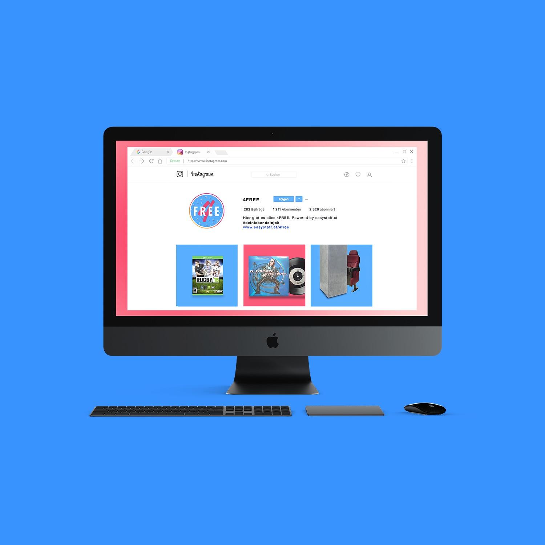 Young Lions Cyber Easy Stuff Mock Up Instagram 4 Free Desktop