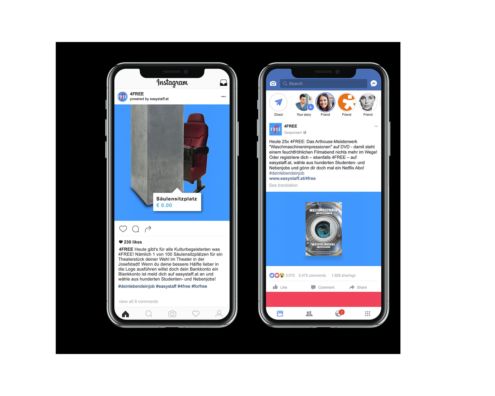 Young Lions Cyber Easy Stuff Mock Up Facebook Instagram Säulensitzplatz