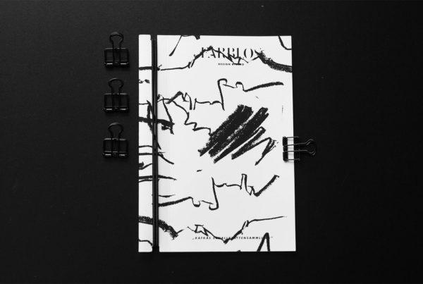 Farblos Design Studio - Diplom Project. Folder.