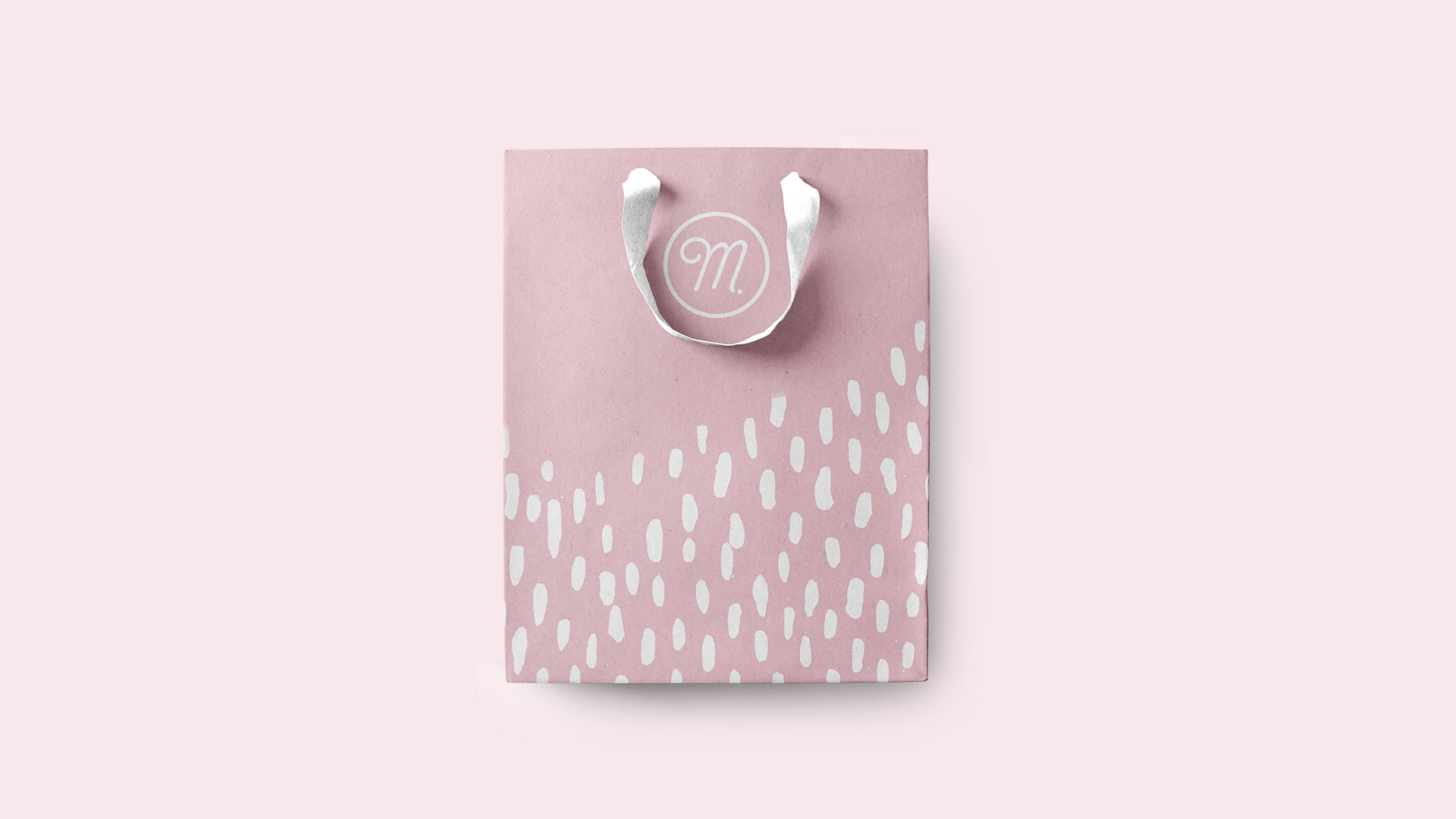 Maîtresse Branding Pastry Shop Macarons Bag