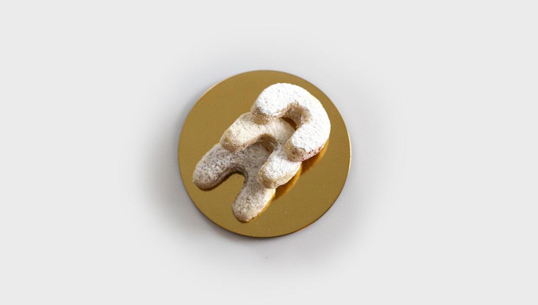 Photo Goldteller Keks Vanille Keks 3 Stück